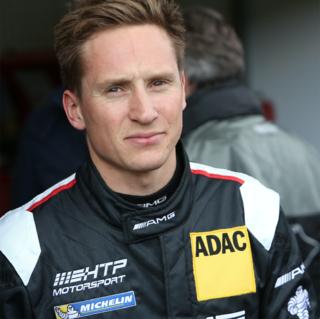 Renger van der Zande Dutch racecar driver