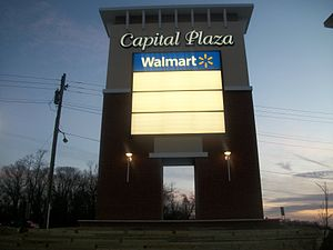 Capital Plaza Mall - Image: Renovating capital plaza sign