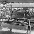 Reportage uit het waterloopkundig laboratorium te Delft, betreffende de droogleg, Bestanddeelnr 900-9481.jpg