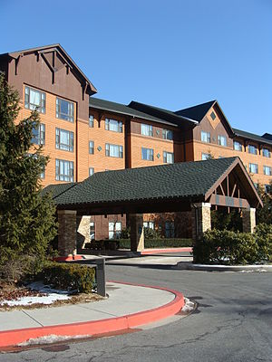 Rocky Gap State Park - Image: Resort entrance