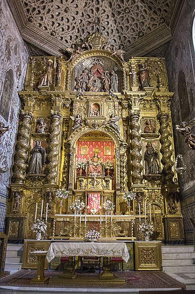 File:Retablo iglesia convento Santa M de Jesús 2016001.jpg