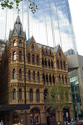 1911 Australian census - The Rialto building, 497-503 Collins Street, where G. H. Knibbs and his staff worked.