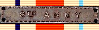 8th Army Clasp