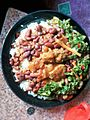 Rice, Beans, Beef Liver and Green Vegies.jpg