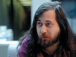 GNU Manifesto - Richard M. Stallman (cover picture for O'Reilly Media's book Free as in Freedom)