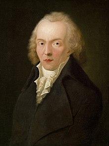 Jean Paul Friedrich Richter, Gemälde von Heinrich Pfenninger, 1798, Gleimhaus Halberstadt (Quelle: Wikimedia)