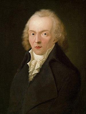 Jean Paul - Portrait of Jean Paul by Heinrich Pfenninger (1798)