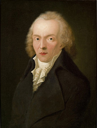 Jean Paul - Portrait of Jean Paul by Heinrich Pfenninger (1798)