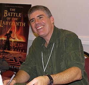 Rick Riordan - Image: Rick riordan 2007