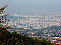 Ride with Simeonovo Cablecar to Aleko, view to Sofia 2012 PD 027.jpg