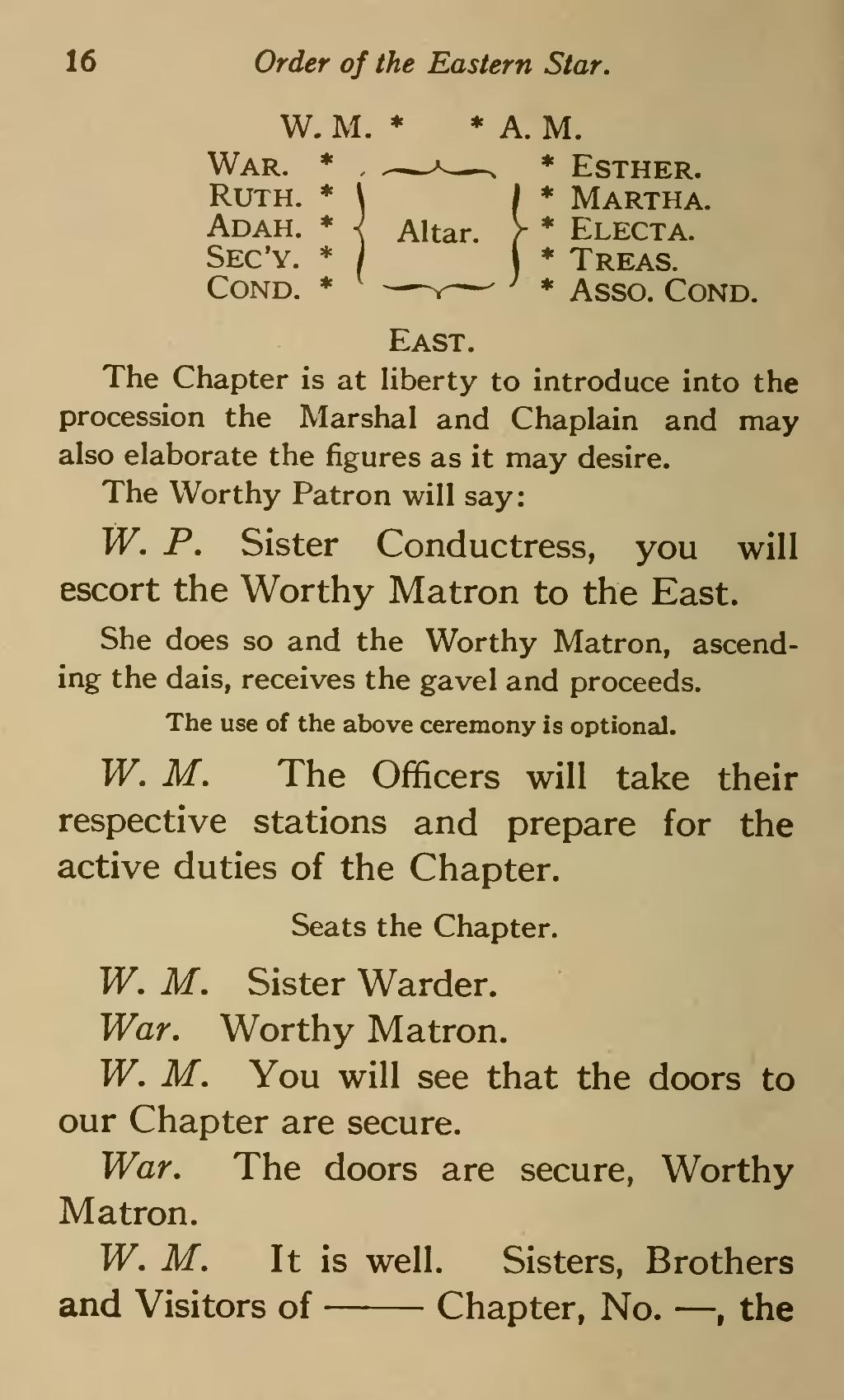 page ritual of the order eastern star  1921  djvu  26