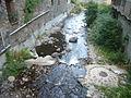 Riu Rigart vist des del carrer Major - Ribes.JPG
