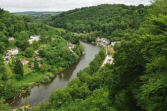 Symonds Yat - Image: River Wye at Symonds Yat (9762)
