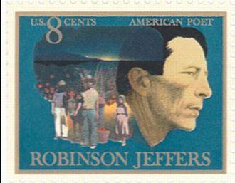 Robinson Jeffers - Robinson Jeffers U.S. postage stamp – 1973