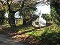 Roadside monument at Restronguet - geograph.org.uk - 1042499.jpg