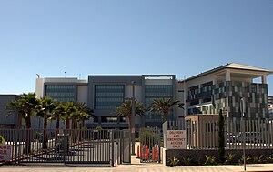 Robert F. Kennedy Community Schools - Main entrance to school on Catalina Street