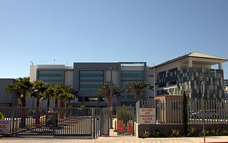 Robert F. Kennedy Community Schools - Main entrance to school on Catalina Street