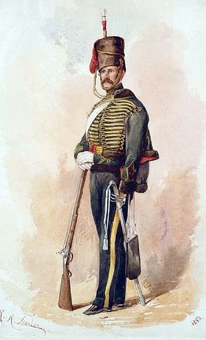 Robert Richard Scanlan - 8th King's Royal Irish Hussars (1850) Robert Richard Scanlan