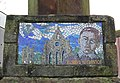 Robert Service Memorial, Kilwinning, North Ayrshire detail.jpg