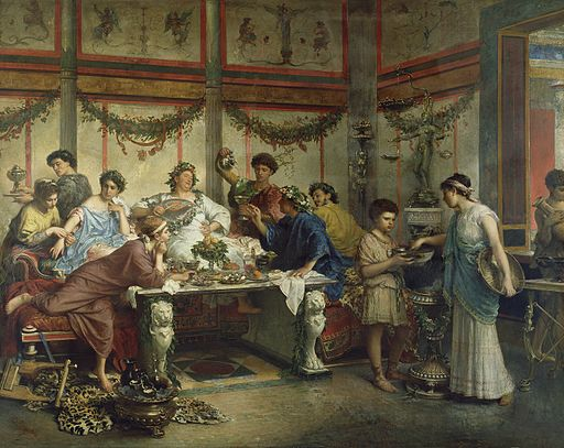 Roberto Bompiani - A Roman Feast - 72.PA.4 - J. Paul Getty Museum