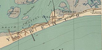 Far Rockaway Branch - The Far Rockaway Branch initially extended west to Rockaway Park. In 1887, a connection was built to the Rockaway Beach Branch at Hammels, and the older Far Rockaway Branch was abandoned west of Hammels.