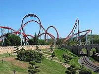 Rollercoaster dragon khan universal port aventura spain.jpg