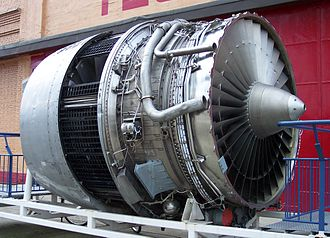 Rolls-Royce RB211 - At the Technik Museum Speyer with no front covers