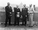 Roman Dunin, Jan Weryński, Józef Ostrzycki, Jan Śmiechowski (1935).JPG