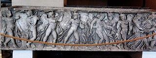 Sarkofag ze sceną mitu Penteusza oraz scenami dionizyjskimi (thiasos)