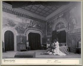 Romeo och Julia, Dramatiska teatern 1900. Föreställningsbild - SMV - H10 037.tif