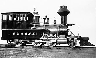 Ulster and Delaware Railroad - Image: Rondout and Oswego 7