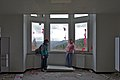 Room with pretty view and a couple of lovers in Sanatorium du Basil, Stoumont, Belgium (DSCF3539).jpg