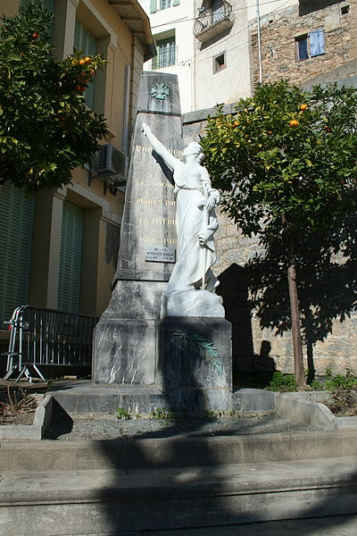 Roquebrun (Hérault) - monument aux morts