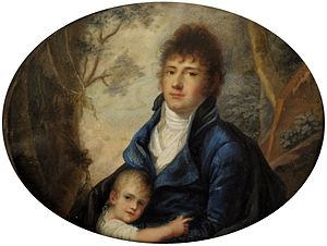 Father - Paternal love (1803) by Nanette Rosenzweig, National Museum in Warsaw