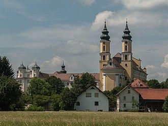 Rot an der Rot - Image: Rot ad Rot, Klosterkirche Sankt Verena (und Maria) Lijst 2 Paragraph 28 foto 3 2014 07 28 12.44