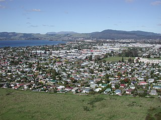 City in Bay of Plenty, New Zealand