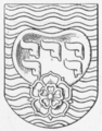 Rougsø Herreds våben 1584.png