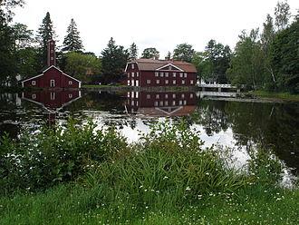 Ruotsinpyhtää - Old buildings of the Strömfors Iron works