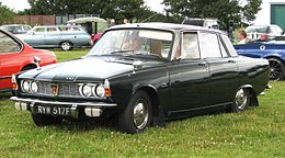 Rover 2000 TC aka P6 1997cc August 1967 faithfully conserved or restored to look not unlike the way they looked in 1967.JPG