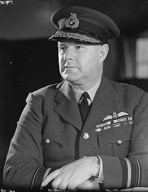 Hugh Saunders - Hugh Saunders as Air Officer Commanding No. 11 Group during the Second World War