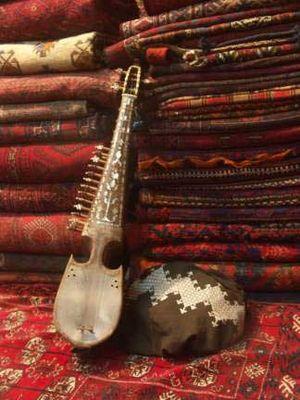 Rubab (instrument) - Image: Rubab