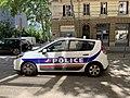 Rue de La Part-Dieu (Lyon) voiture de police (mai 2019).jpg