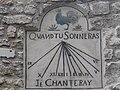 Rue de l'Abreuvoir, 4 sundial.jpg