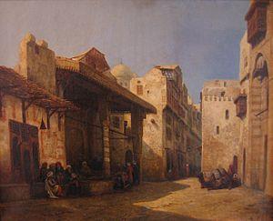 Jean Achard - Rue du Caire, by Jean Achard