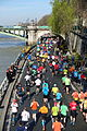 Runners @ Marathon de Paris @ Seine @ Paris (25603721914).jpg