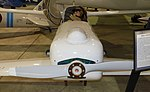 Rutan Quickie One (Model 54) detail - Oregon Air and Space Museum - Eugene, Oregon - DSC09841.jpg