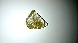Rutilated Quartz Specimen 5 - golden rutile strands.jpg