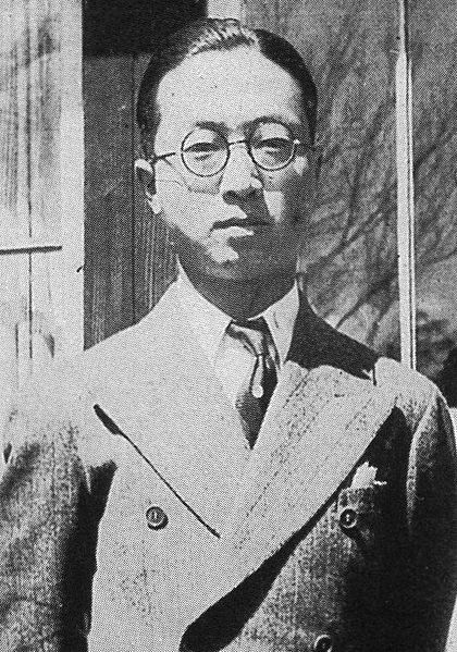 File:Ryoichi Nakagawa (Nakajima AIrcraft Company) at the age of 26.jpg