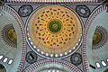 Süleymaniye camii tavan işlemeleri görünümü.jpg