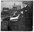 S. Rowland; patient being skiographed Wellcome L0016897.jpg